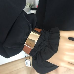 WHBM leather bracelet. New with Tags.